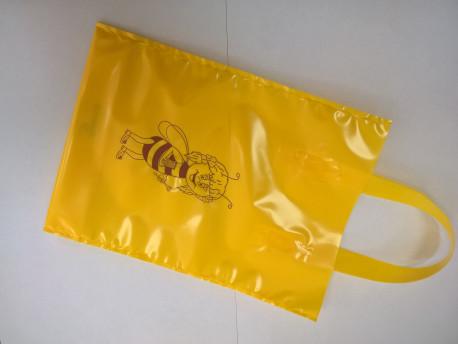 """Darčeková taška na 1kg medu žltá """"BEE"""", 25ks"""