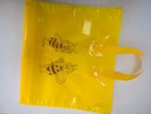 """Darčeková taška na 2 x 1kg medu žltá """"BEE"""""""