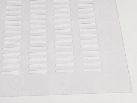 Műanyag anyarács -átlátszó 420x420