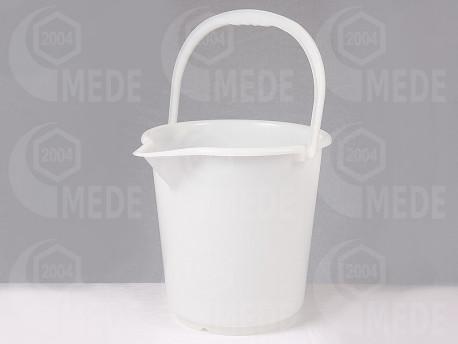 Műanyag vödör pergető alá 10l-es