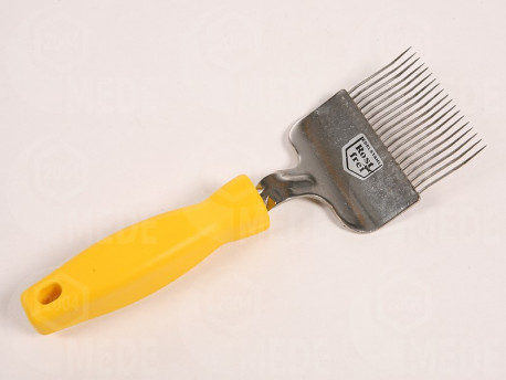 Odviečkovacia vidlička nerez, plastová rukoväť