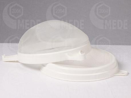 Műanyag szűrő, kétrészes ø 25cm
