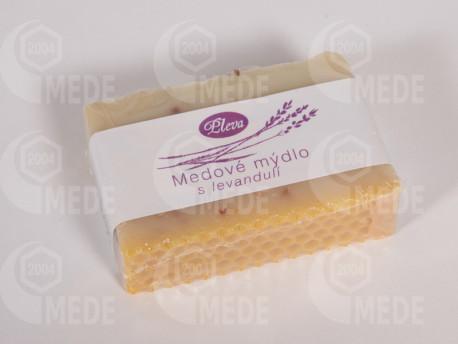 Medové mydlo s levandulou