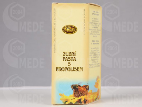 Zubná pasta s propolisom