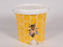Műanyag letöltő edény méhecskés 32l