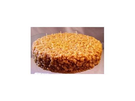 Sviečka torta včelí vosk