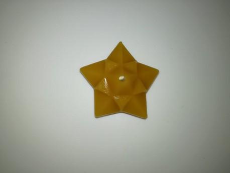 Sviečka Hviezda zdobená