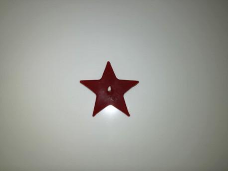 Sviečka Hviezda červená