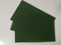 Medzistienky zelené 39x24 cm, ks