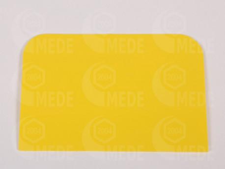 Špachtla na med plastová žltá