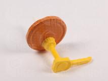 Dávkovač na med s viečk. oranž+plást 2 - 82mm