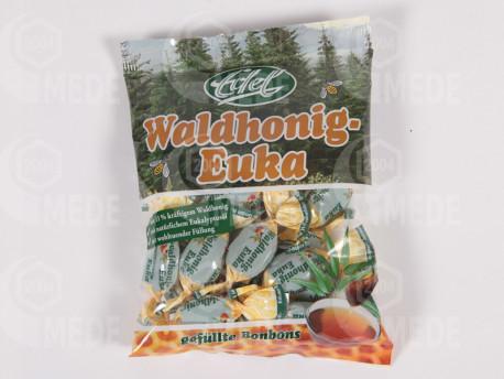 Cukríky eukalyptus - lesný med, plnené 100g