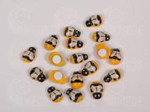Drevená včela nalepovacia 13x9mm, 100ks