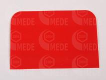 Mézkiszedő lapát műanyag - piros