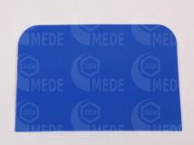 Mézkiszedő lapát műanyag kék