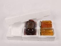 Polystyrénový obal na 3x1kg medu