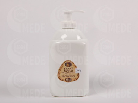 Medový šampón s kondicionérom