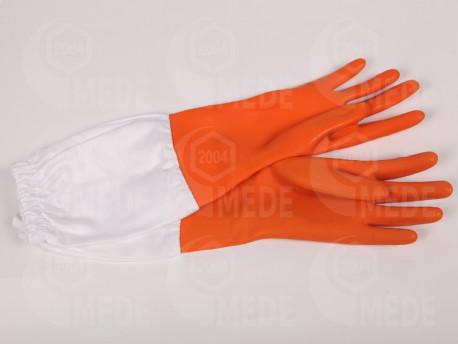 Včelárske rukavice Orange 8