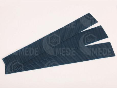 Medzistienky modré rezané na pásy 39x6cm, kg
