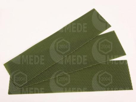 Medzistienky zelené rezané na pásy 39x8cm, kg