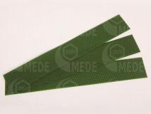 Medzistienky zelené rezané na pásy 39x6cm