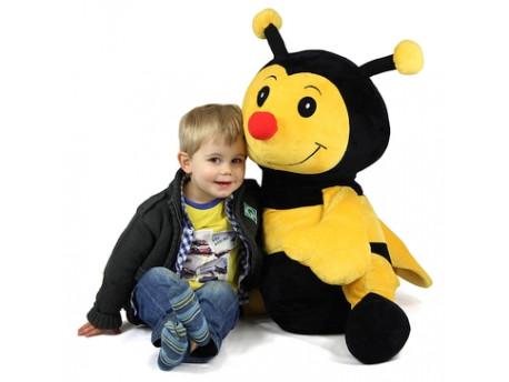 Plyšák včela veľká
