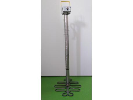 Tavička medu špirála s termostatom, 230V, 1500W, súd