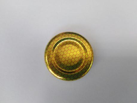 Lapka arany+méhsejt 43mm