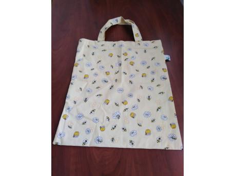 Nákupná taška skladacia, džbán, krátke uško