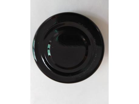 Viečko plechové čierne 43mm