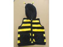 Detská vesta, motív včielka