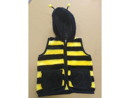 Gyerek mellény, méhecske mintás
