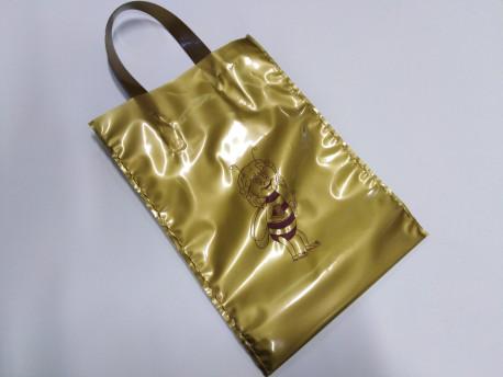 Taška darčekova na 1kg medu zlatá BEE, 25ks