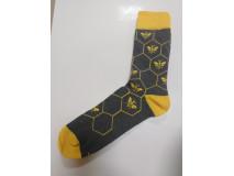 Ponožky Pánske, motív včela