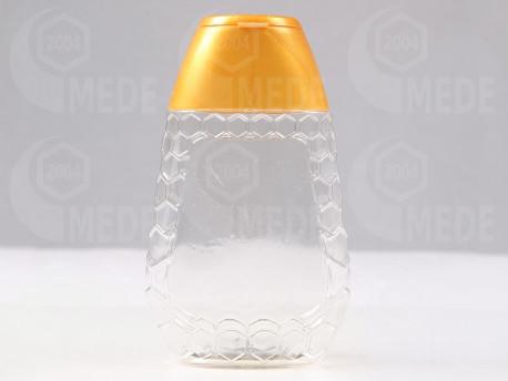 Plastový obal na 250g medu stláčací