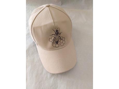 Šiltovka, nastaviteľná - motív včela