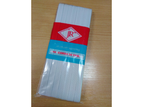 Bordázott gumi 11mm széles, 30m/csomag