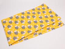 Asztalteritő 150x200 méhecskés motívummal