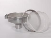 Mézszűrő 3 részes alumínium, alumínium kannához