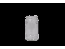 Faceta sklenená, 314ml, na 400g medu