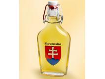 Mézbor 0,2l Laposüveg - Szlovákia felirattal és az államcímerrel