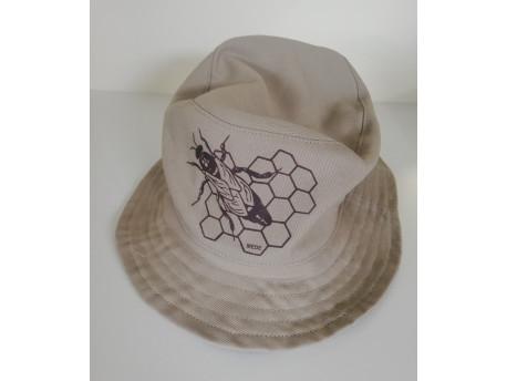 Sapka méh motívummal