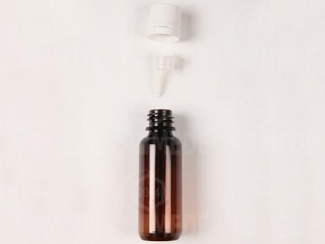 Sklenená fľaša na propolis 30ml s kvapkadlom, sada