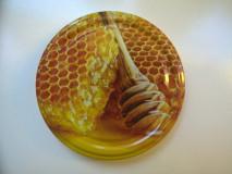 Lapka 66mm - Mézcsurgató+méhsejt, narancsszínű