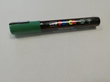 Anyajelölő toll - zöld II, vékony