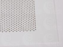Virágporszedő műanyag rács 395x395, 4mm