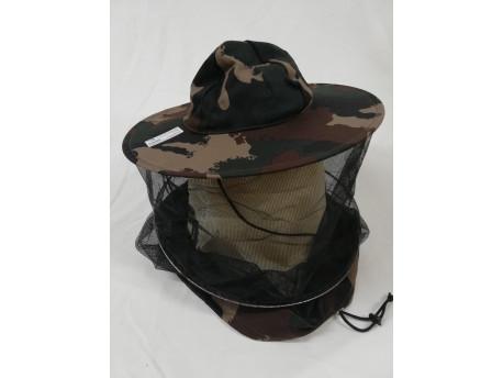 Včelársky klobúk štandard maskáčový