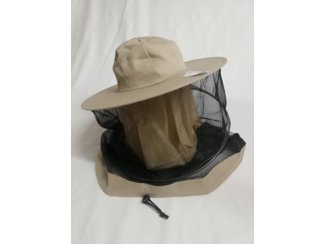 Včelársky klobúk štandard béžový
