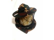 Včelársky klobúk vzadu s látkou maskáčový