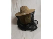 Včelársky klobúk navliekací do podpazšia, béžový